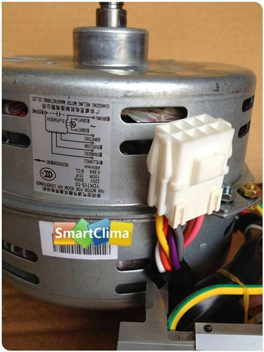 Air Conditioner Fan Motor Ydk115 10 220 V 100 W 0 98a