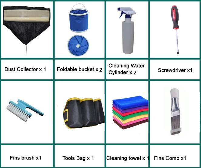 air condition cleaning unit accessories