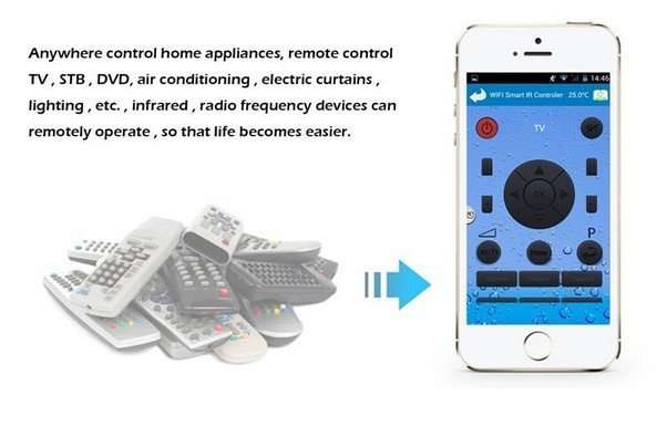 all in one remote controller