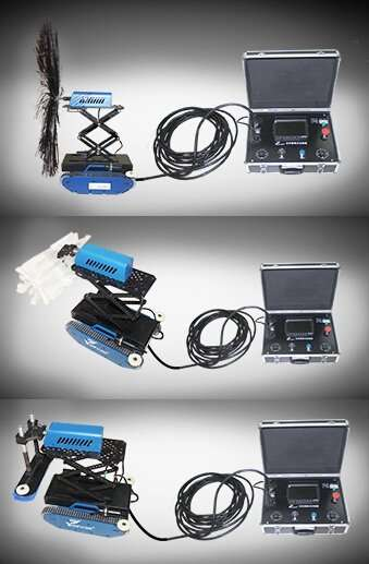 duct Cleaning robot for circular duct and rectangle duct