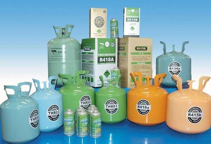 refrigerant-gas