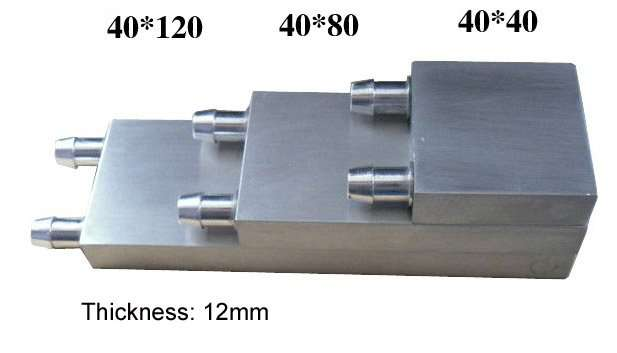 thickness 12mm water cooling block