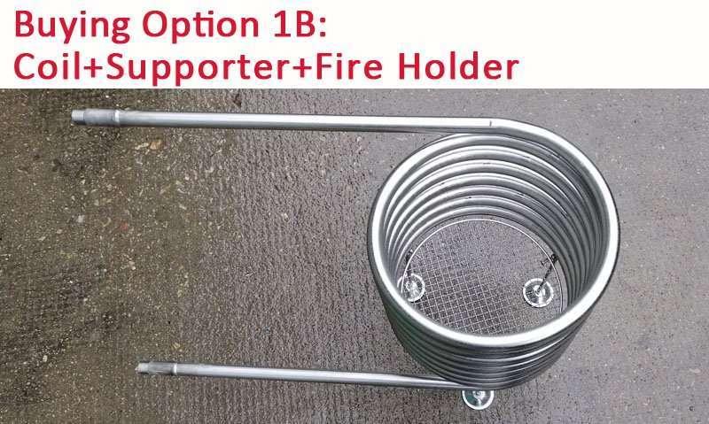 Hot tub heater coil option 1B coil kit
