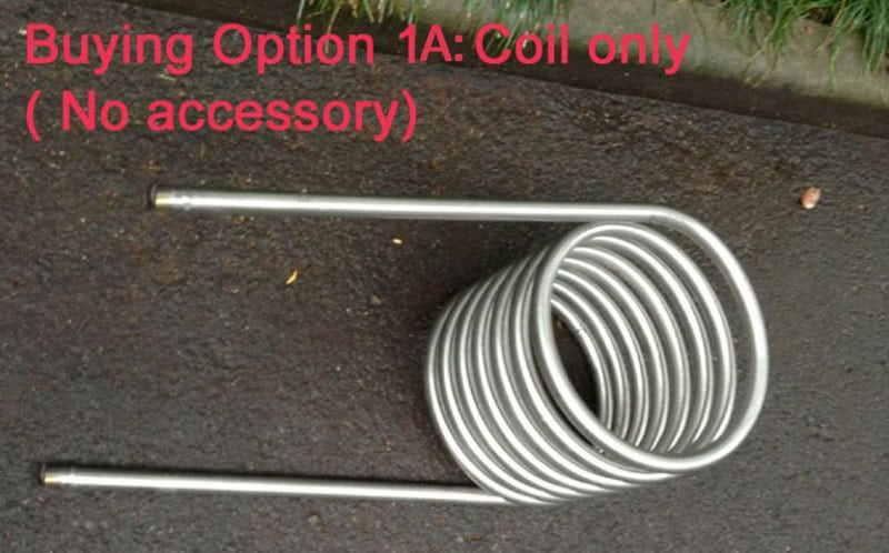 Hot tub heater coil option 1A coil only