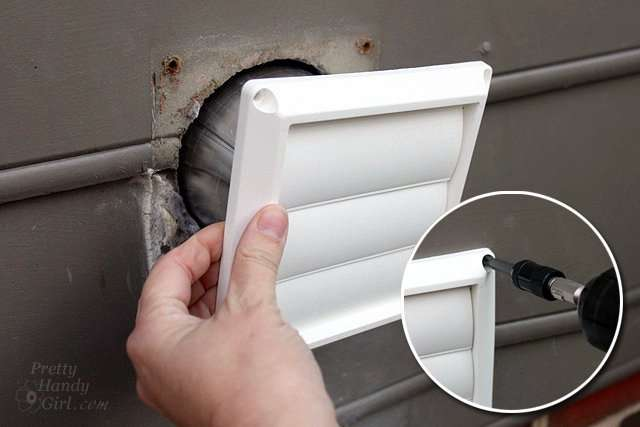 Replace Dryer Vent Hood