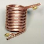 Tube in Tube evaporator Coaxial Heat Exchanger condenser 22