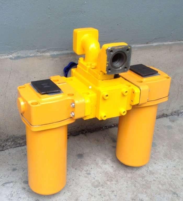 Low Pressure Duplex Oil filter