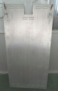 Solar PVT aluminium heat collector