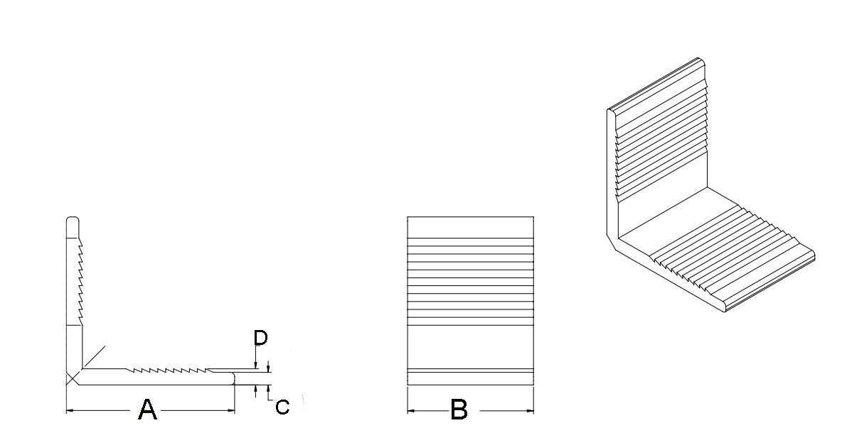 Aluminum Module Frame Corner Key