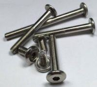 Stainless Steel Flathead Bolts,Hexagon socket