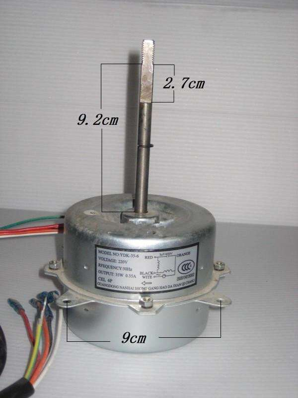Air Conditioner Fan Motor Ydk35 6