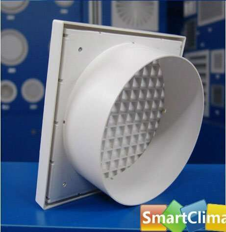 Square Egg Crate Grille With Round Connector Manufacturer