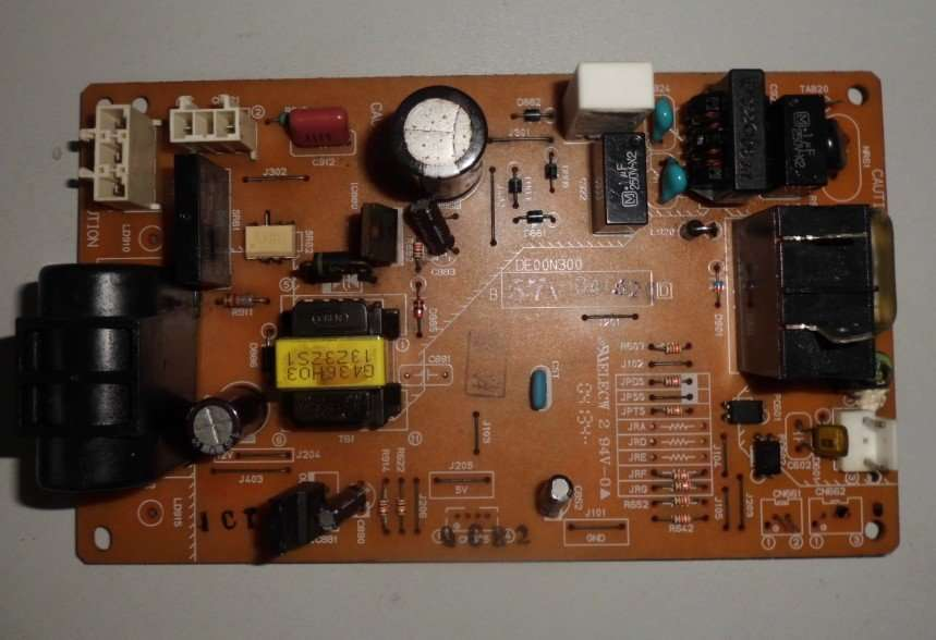 Mitsubishi Electric Air Conditioner MSH-J12TV DE00N300 Main PCB Board