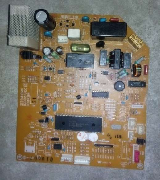 Mitsubishi Electric Air Conditioner SE76A810G01 MSH-J12TV Main PCB Board