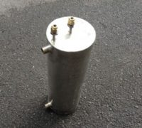 Stainless Steel Coil In Shell Heat Exchanger
