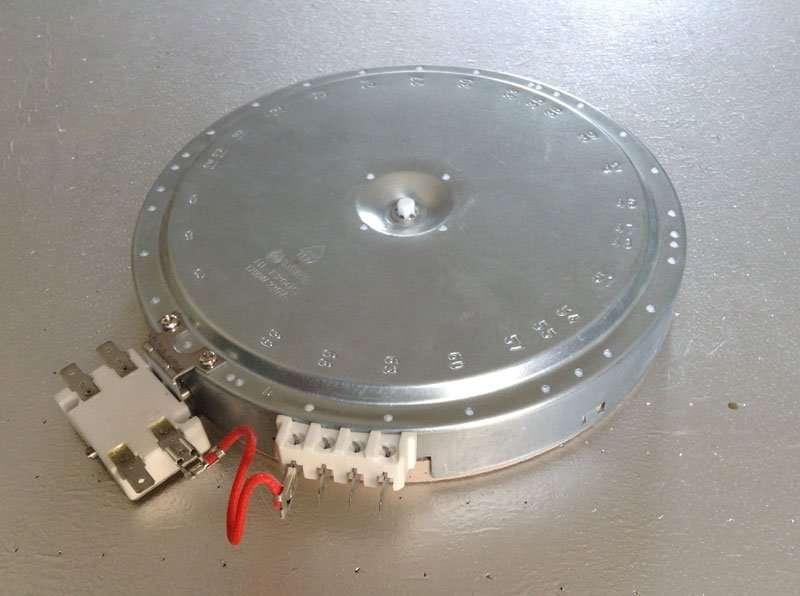 ... Ceramic Heating Radiant Plate HL 1700W 230V ... & Smartclima » Webo Heating Radiant Plate HL-F200C 1700W 230V