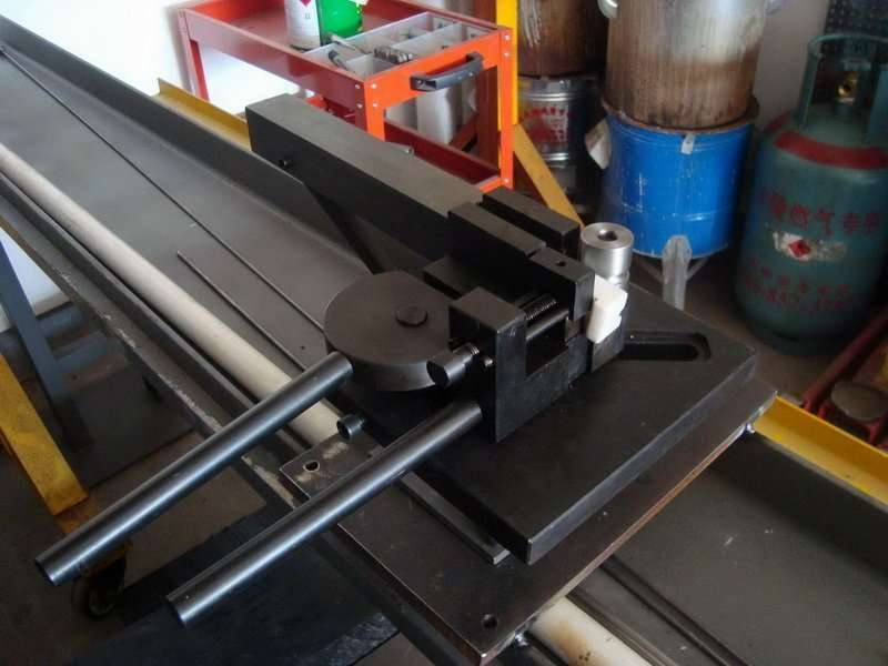Manual Hairpin Pipe Bending machine no Mandrel