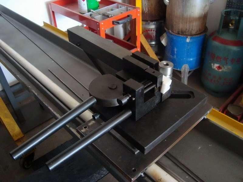 Manual Hairpin Pipe Bending machine no Mandrel