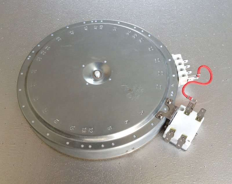 Webo Heating Radiant Plate HL-F200C, 200mm diameter