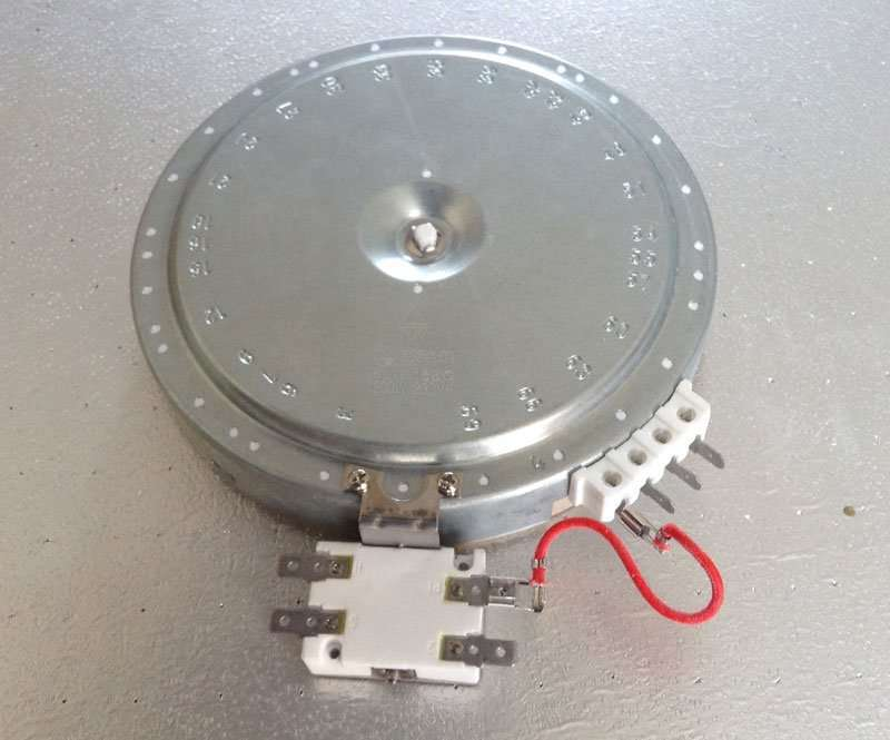 Webo Heating Radiant Plate for 7-step switch