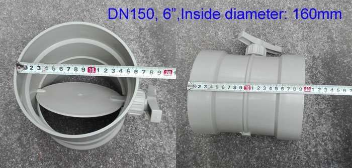 6inch-plastic-duct air adjust