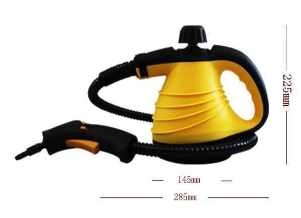 AC-steam-cleaner-size