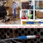 Flexible Shaft Condenser Chiller Tube Cleaning Machine
