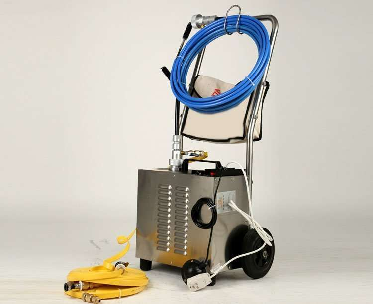 Flexible Shaft Condenser Chiller Tube Cleaning Machine 44