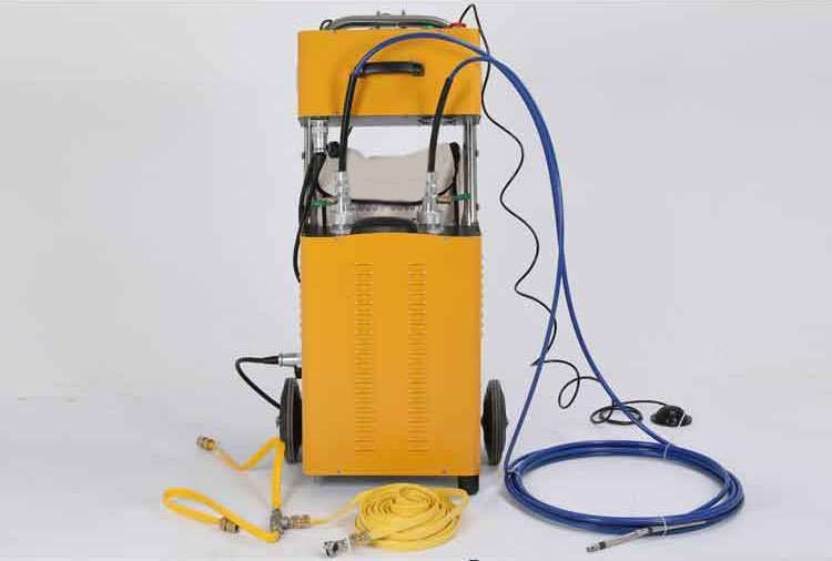 Flexible Shaft Condenser Chiller Tube Cleaning Machine 50