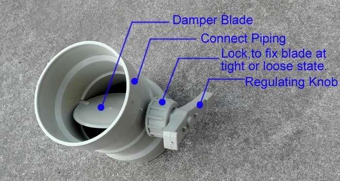 Damper-valve-parts