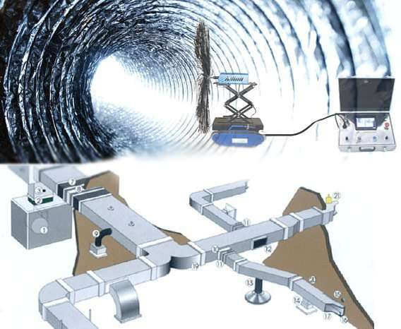 Duct-Cleaning-Robot
