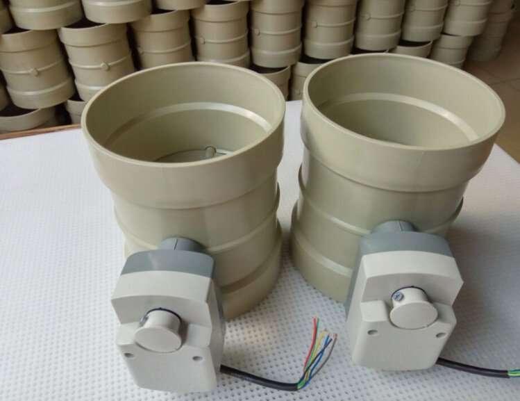Electric-Damper-valve