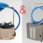Flexible shaft duct cleaning and chiller tube cleaning machine