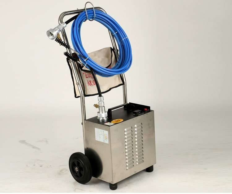 Flexible Shaft Condenser Chiller Tube Cleaning Machine 46