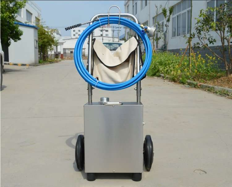 Flexible Shaft Condenser Chiller Tube Cleaning Machine 34