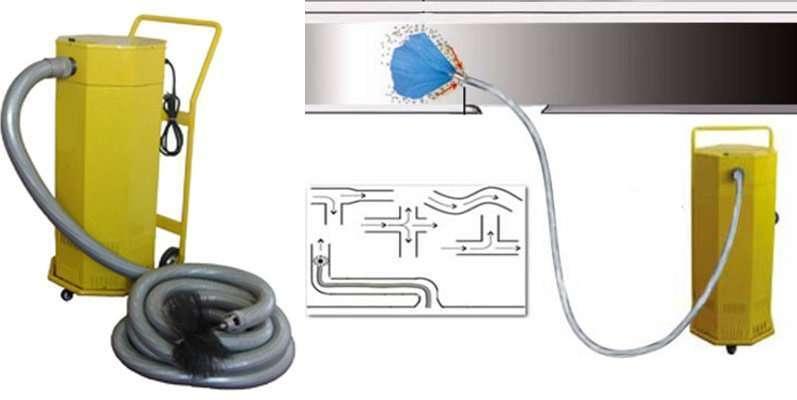 Rotary Brush Duct Cleaning Machine standard