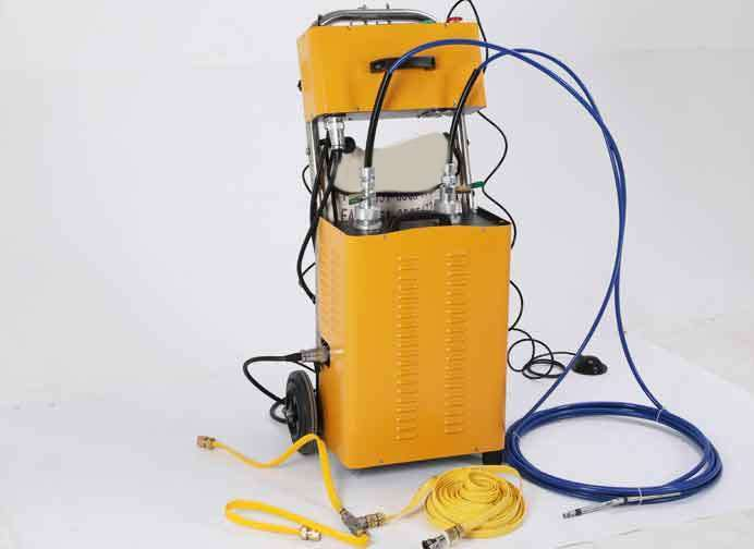 Flexible Shaft Condenser Chiller Tube Cleaning Machine 82