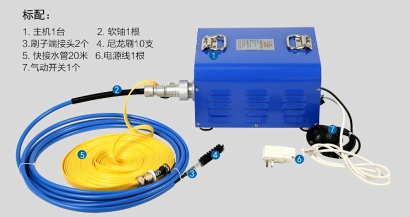 Chiller tube cleaning equipments 24