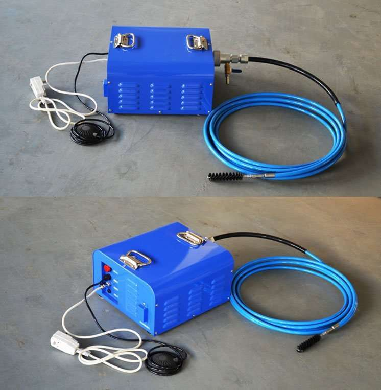 Flexible Shaft Condenser Chiller Tube Cleaning Machine 26