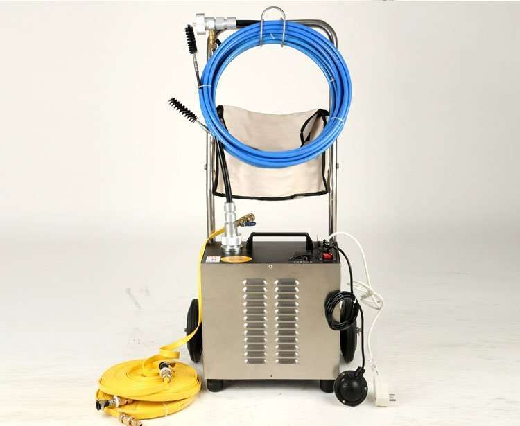 Flexible Shaft Condenser Chiller Tube Cleaning Machine 42