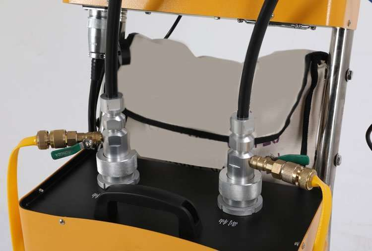 Flexible Shaft Condenser Chiller Tube Cleaning Machine 84