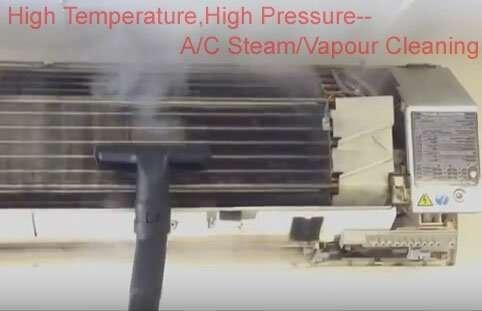 Air Conditioner vapor cleaning machine 4