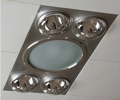 Shower Ventilation Fan with Lights