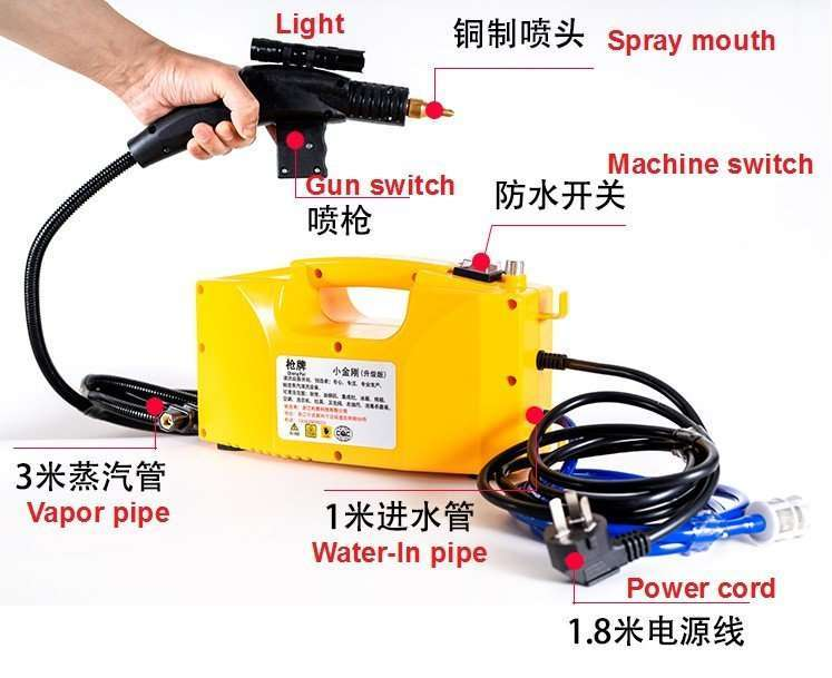 Air Conditioner High Temperature Cleaning Machine,A/C Steam Cleaner 2