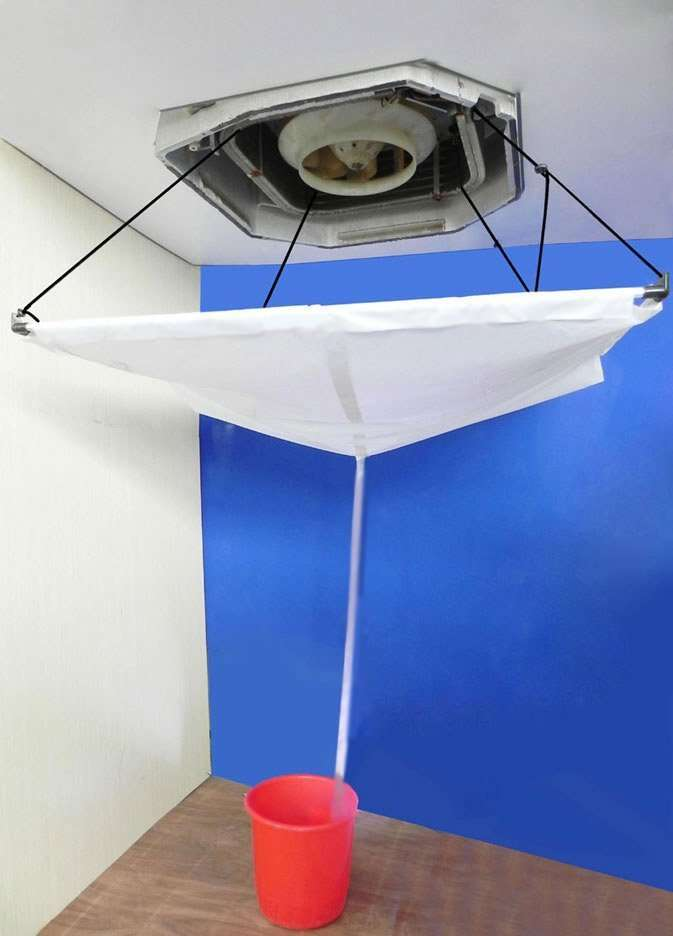 Air Conditioner Cleaning Dust Collector For Ceiling Mounted Air Conditioners