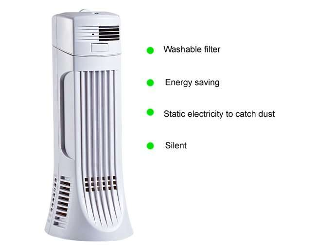Desktop Electronic Air Cleaner