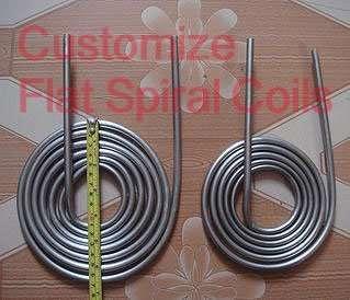 Flat Spiral Coil heat exchanger