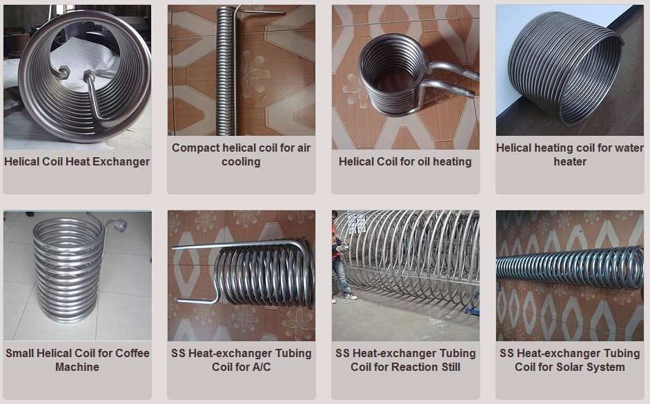 Helical Coil Tube Heat Exchanger