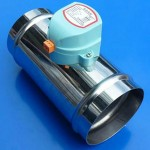 Stainess steel electronic volume control damper
