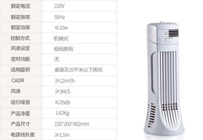 air filter parameter